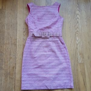 Banana Republic belted dress with pockets 0P